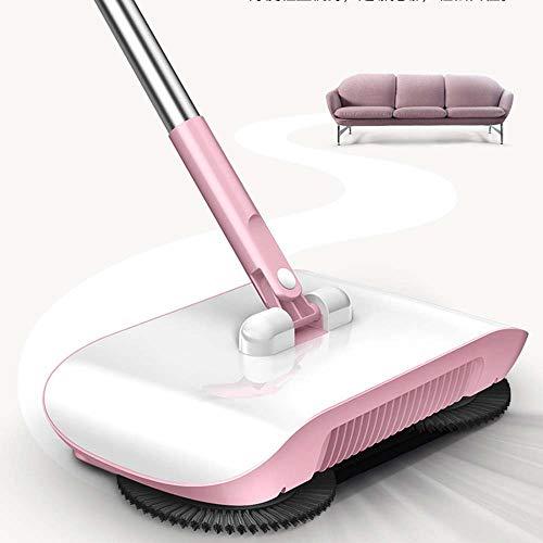 QWE Barredora eléctrica Barredora de Empuje Manual Barredora doméstica Máquina de Limpieza de azada Barredora portátil para Oficina en el hogar, etc.