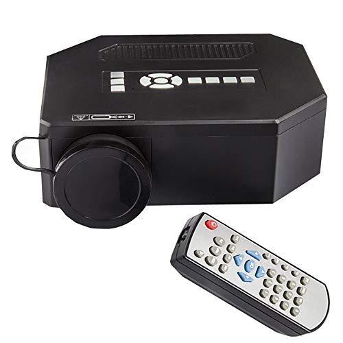 Mhwlai Mini proyector, UC30 Proyector casero HD Micro proyector...
