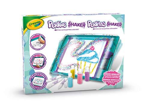 CRAYOLA Shaker, crea con le perline colorate, gioco e regalo, da 6 anni, Multicolore, 25-7298
