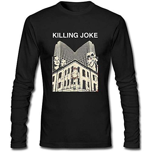 Camiseta de manga larga para hombre Killing Joke PC. XL