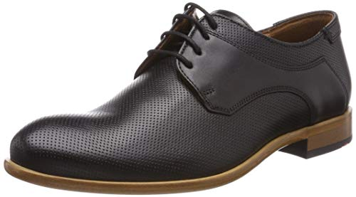 LLOYD MELOS Business-Schuhe, Schwarz