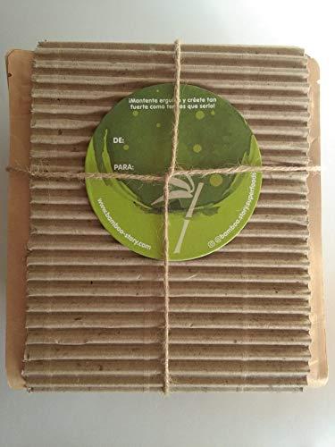PARA REGALAR – Bamboo Story - Pepitas/Nibs/Puntas de Cacao Crudo Endulzadas con Yacón Bio 400g + Pasta de Cacao 100% en Óbleas Bio 400g - NUEVO