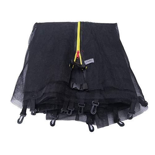 xingdong Red protectora para trampolín al aire libre, red de seguridad de repuesto duradera, red protectora impermeable y transpirable, trampolines interiores y exteriores para adultos