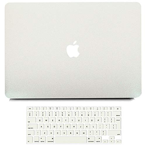 B BELK MacBook Air 13 Inch Case (Model: A1369 A1466, Older Version 2010-2017 Release), Bling Sparkly Crystal Smooth Ultra-Slim PC Hard Case with Keyboard Cover for MacBook Air 13.3 Inch