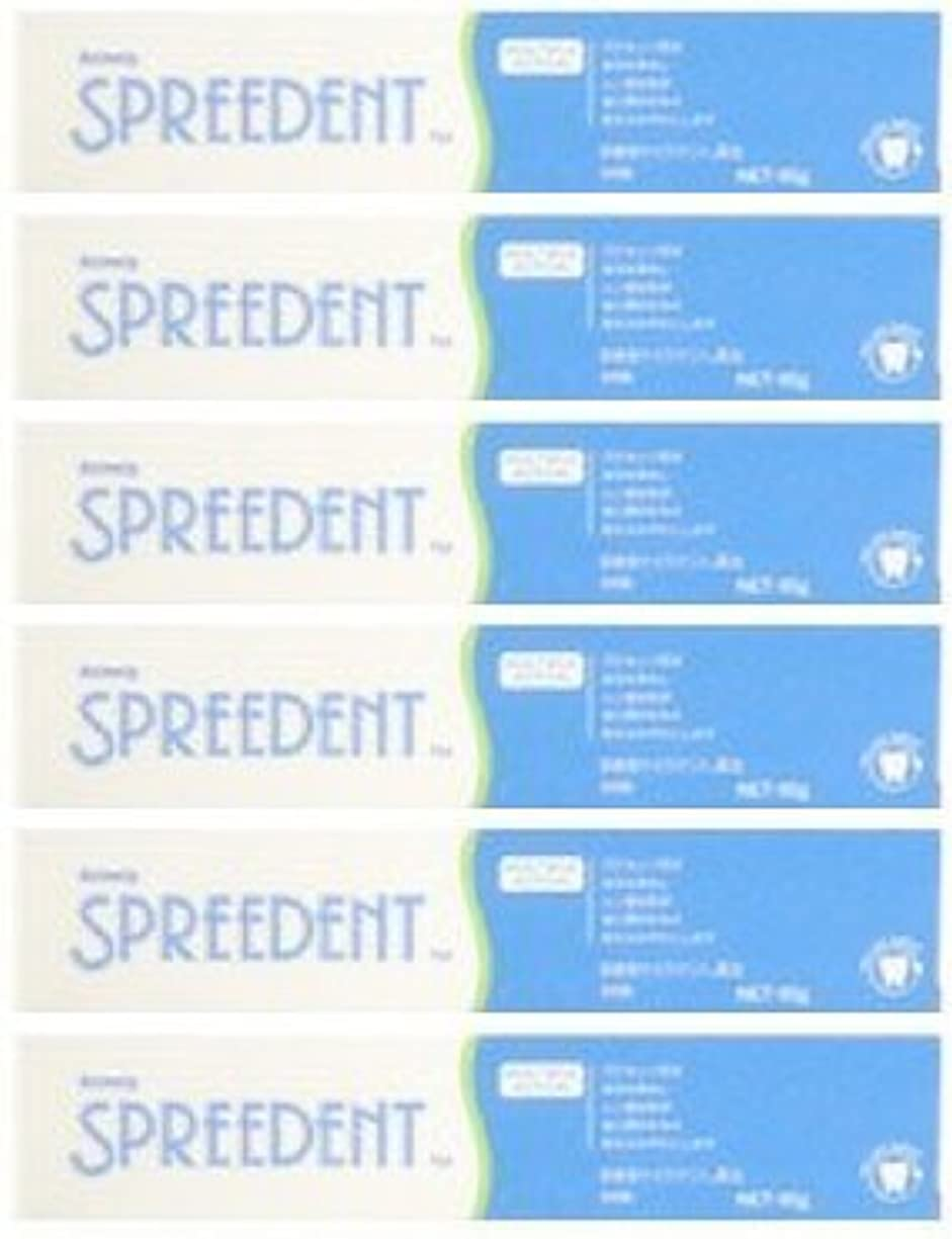 顕著福祉安定したアムウェイ スプリーデント フッ素配合ハミガキ ハンディサイズ1本 (65g) E949J-99【6個セット】