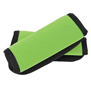 Travelon Set of 2 Handle Wraps, Neon Green