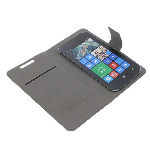foto-kontor Tasche für Archos 45 Neon 40 Cesium 40c Titanium 45c Platinum 45b Platinum 45B Helium Book Style Ultra-dünn