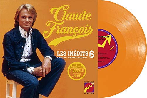 Les Inédits Vol. 6-Vinyle 25cm Orange + CD