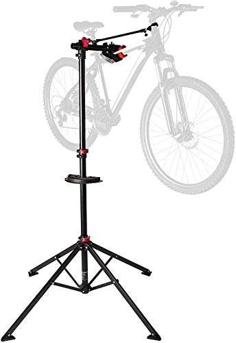 Ultrasport Bike Stand Expert, Robust Bike Stand, Also Suitable for Mountain Bikes – Repair Stand for All Types of Bikes Up to 30 Kg, with Useful Features for Fixing Your Bike, 360° Rotatable