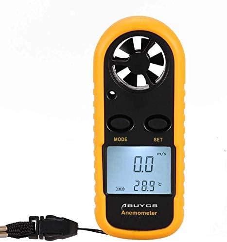 Abuycs Anemometers Max 42% OFF Handheld Wind Speed Gauge Very popular Meter Portable