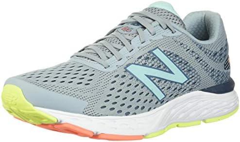 New Balance Women s 680 V6 Running Shoe Light Slate Stone Blue Bali Blue 6 5 M US product image