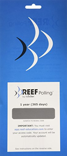 REEF Polling Mobile Student 1 year access card