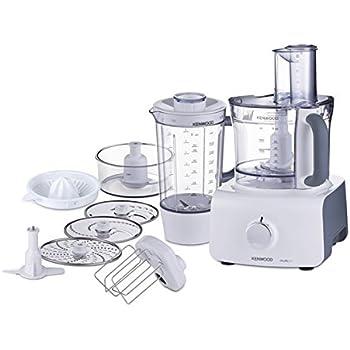 Kenwood FDP613WH - Robot de cocina, 100 W, color blanco: Amazon.es: Hogar