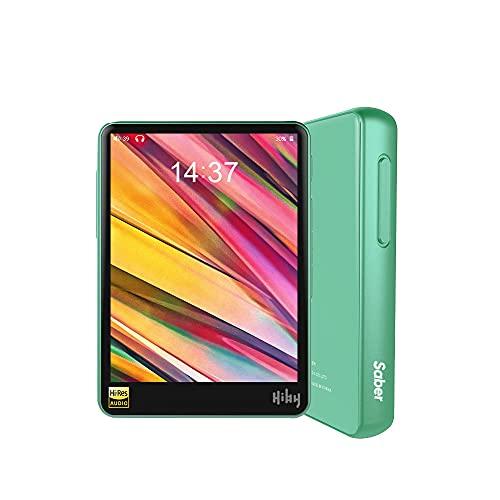 HiBy R3 Pro Saber Portable Hi-Res Music Player, Hi-Fi Lossless MP3 Player with Bluetooth 5.0/aptX/LDAC/MQA/DSD/FLAC/5G WiFi/Dual ES9218P, High Resolution Audio Player with Full Touch Screen(Grün)