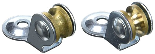 Chapuis vpsl12poleas secadora–Material: acero galvanizado–Diámetro: 12mm–para cuerda de: 3mm–Color: metal, gris, Set de 2piezas