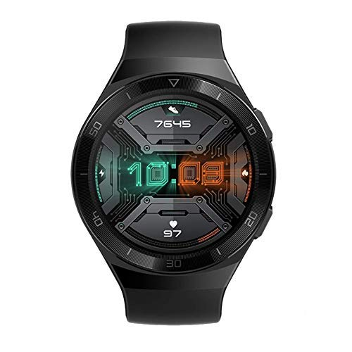 HUAWEI Watch GT 2e Sport (Graphite Black, 46mm, 2 Weeks Battery, Music Control, 100 Workout Modes, SpO2 & Heartrate Monitor, Accurate GPS, AMOLED Display, Smart Notifications, Custom Watch Faces)