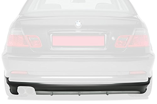 CSR-Automotive Heckansatz Kompatibel mit/Ersatz für BMW 3er E46 Coupé/Cabrio HA188