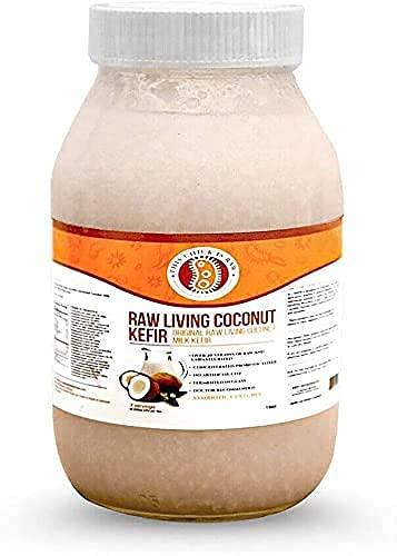 This Chick Is Raw Original Raw Living Coconut Milk Kefir (Half Gallon)