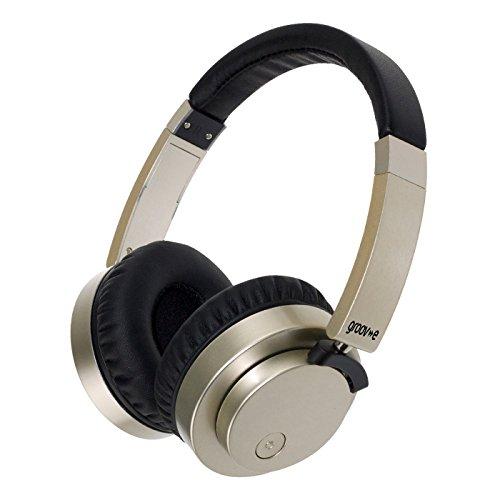 Groov-e Fusion kabel of draadloze Bluetooth hoofdtelefoon – zwart n/a goud