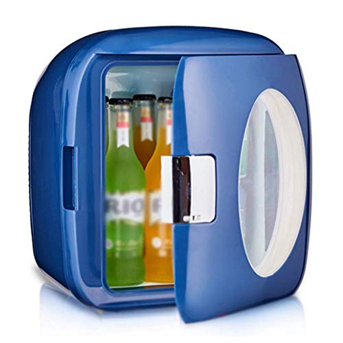 YYhkeby 9L Mini FRIGH FRIGE para EL Coche DE Dormitorio PEQUEÑO PEQUEÑO Mini FRIGUX por PORSTRUCHO Uso en la estación Wagon Jialele (Color : Navy Blue)
