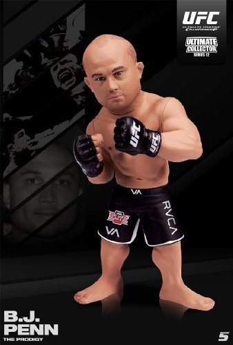 Round 5 MMA UFC Ultimate Collector Series 12 BJ Penn Action Figure