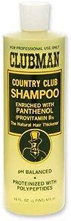 Clubman Country Club Shampoo, 16 Ounce