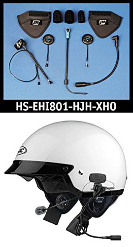 Sale!! J&M Elite 801 Series Helmet Headset for most HJC/Harley shorty-style (5/8) Helmets
