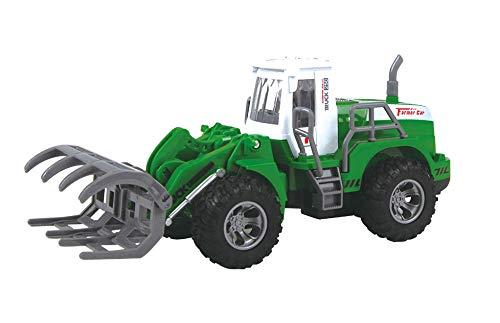 Tractor Teledirigido RC Mini con Luces...