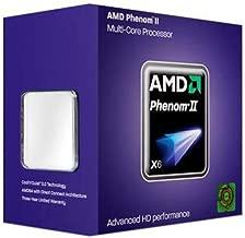 AMD Phenom II X6 1075T Thuban 3gHz 6 x 512 KB L2 Cache 6 MB L3 Cache Socket AM3 125W Six-Core Processor - Retail HDT75TFBGRBOX