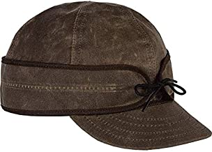 Stormy Kromer Men's The Insulated Waxed Cotton Cap