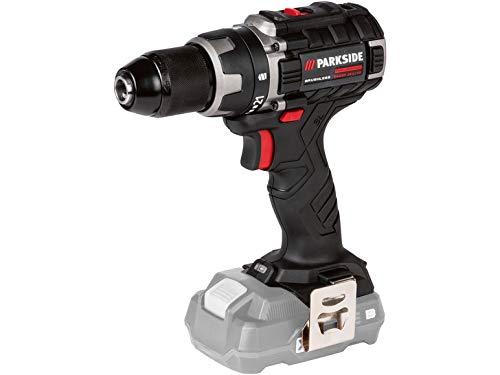 Destornillador inalámbrico PARKSIDE PERFORMANCE PABSP 20 Li X20V, sin escobillas, LED, 60 Nm (en maletín de transporte, sin batería ni cargador)