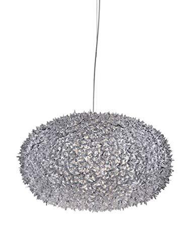 Kartell Deckenleuchte Big Bloom, 80 x 80 x 51,5 cm (S0), glasklar 9280B4