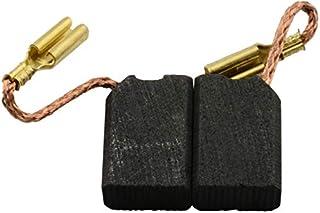 2.4x3.1x6.3 6x8x16mm Escobillas de Carb/ón para BLACK /& DECKER LEM sierra