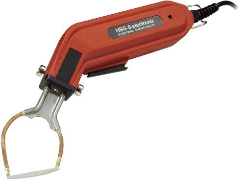 HSGM Heißschneider HSG-0 elektronic mit Schneidspitze Typ R-50. Gewicht nur 0,45 kg. Made in Germany