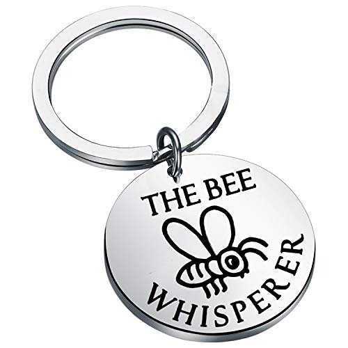 Honey Bee Keychain- The Bee Whisperer