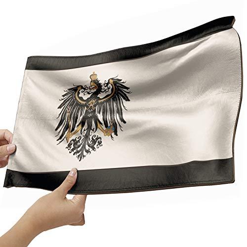 Preußen Flagge als Lampe aus Holz - schenke deine individuelle Preußen Fahne - kreativer Dekoartikel aus Echtholz