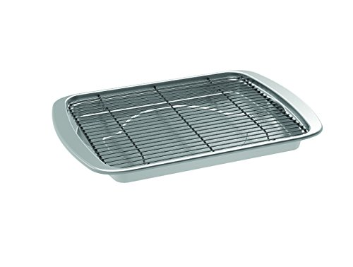 Nordic Ware 45027AMZ Oven Bacon Baking Tray, 17x12 in, Stainless Steel