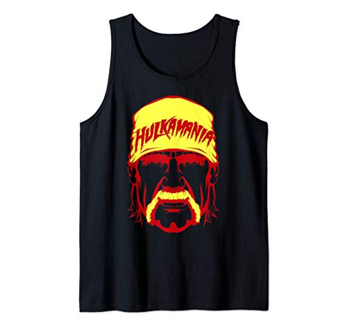US WWE Hulkamania Face Tank Top
