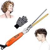 Professionelle Lockenstab,CkeyiN 9mm Elektrische Lockenwickler Haar Styling Werkzeuge Mit Schwarze Handschuhe