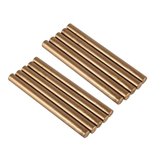 ETbotu zegelwax stokjes, 10 stuks/set van wax staven voor uitnodigingen voor het versmelten van zakken, gereedschap voor stempelen