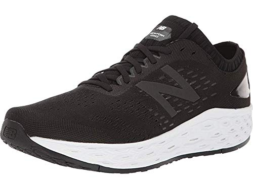 New Balance Men's Fresh Foam Vongo V4 Running Shoe, Black/Black Metallic, 8.5 W US