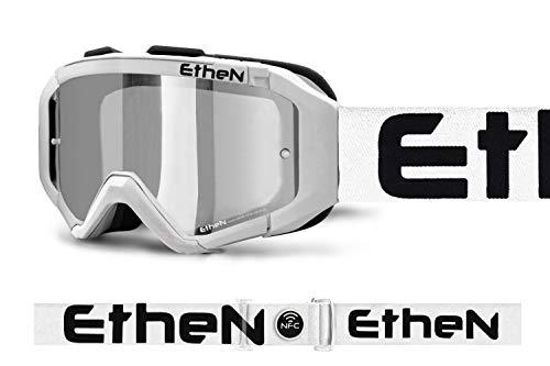 Ethen Gafas/Máscara de Ciclismo, Motocross y Enduro, Estructura Safety Crash e Innovador...