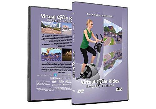 Virtuelle Fahrradtouren DVD - Bangkok Thailand - für Indoor Radfahren, Laufband und Jogging Workouts