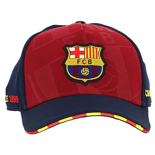 FC Barcelona cap rood-blauw streep senior
