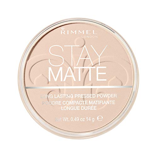 Rimmel London Stay Matte Base de Maquillaje Tono 8 Cashmere - 45 gr