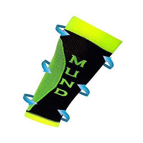 Mund Socks – Long Distance Calf, Couleur Jaune