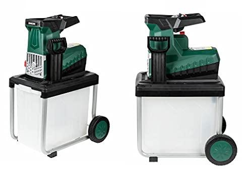 Trituradora eléctrica de rodillos, trituradora de jardín