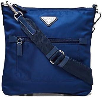Prada Tessuto Nylon Sport Blue Messenger Crossbody Bag 1BH716 product image