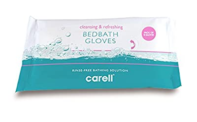 Clinell CBBGL8 Bed Bath Gloves (Pack of 8) by Gama Healthcare