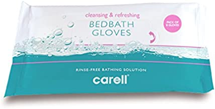 Clinell CBBGL8 Bed Bath Gloves (Pack of 8)